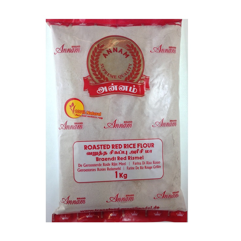 Buy Annam Roasted Red Rice Flour online - Get-Grocery.com ... Red Rice Flour