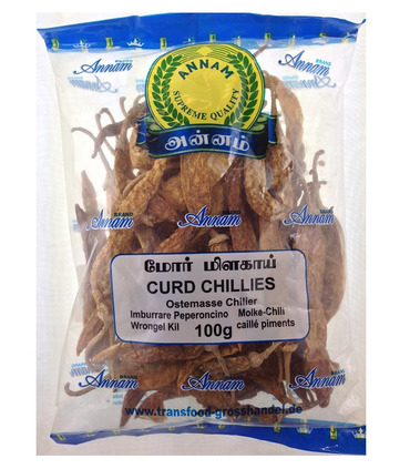 Curd Chillies - 100g