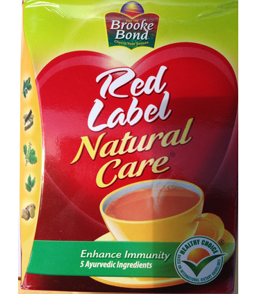 Brooke Bond Red label NATURAL CARE tea