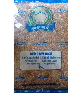 Rice - Annam Red Raw Rice