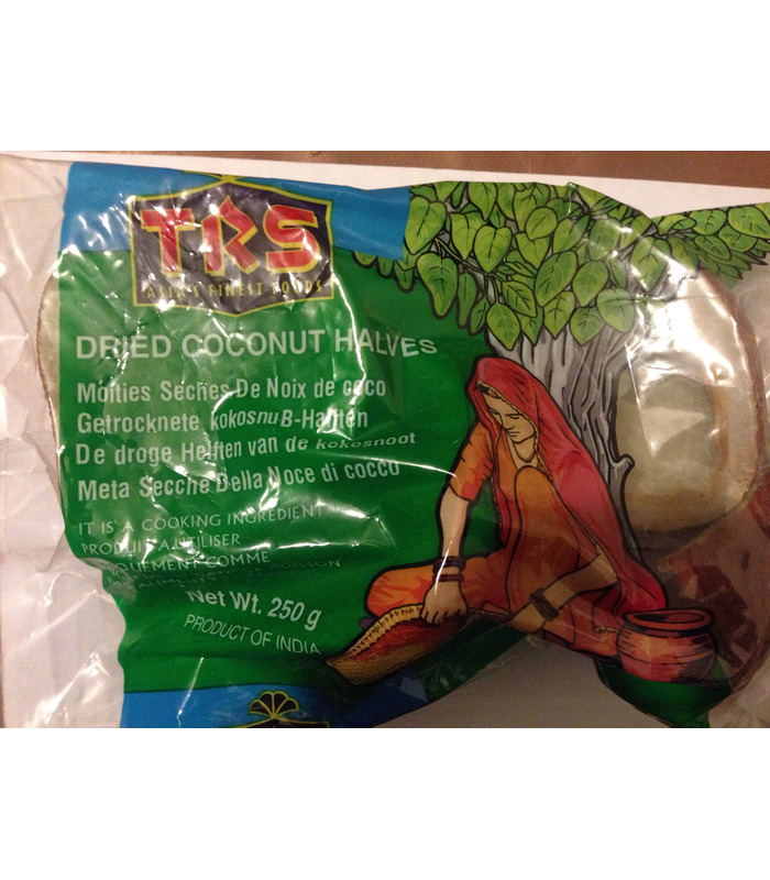 Dried Coconut Halves - 250g