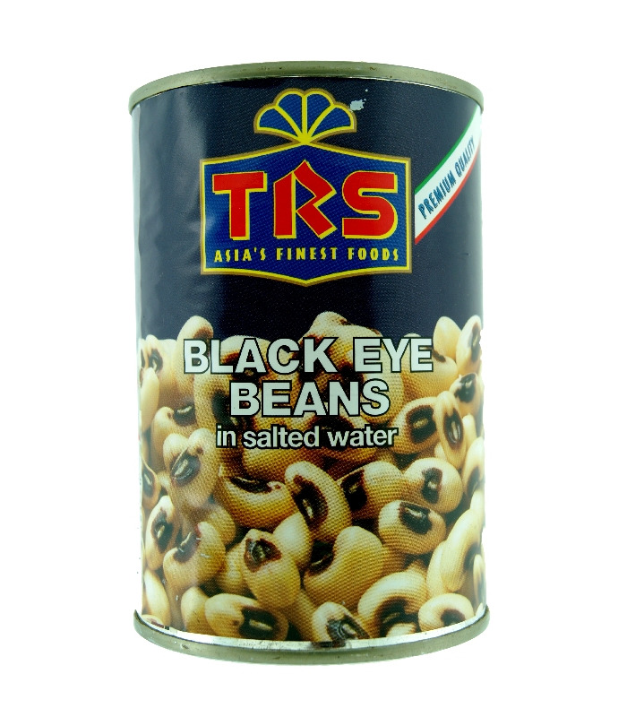 TRS Boiled Black Eye Beans Tin - 400g