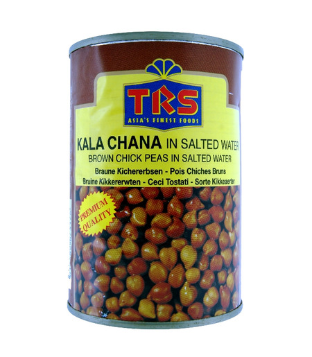 TRS Brown Chickpeas Tin (Kala Chana) - 400g