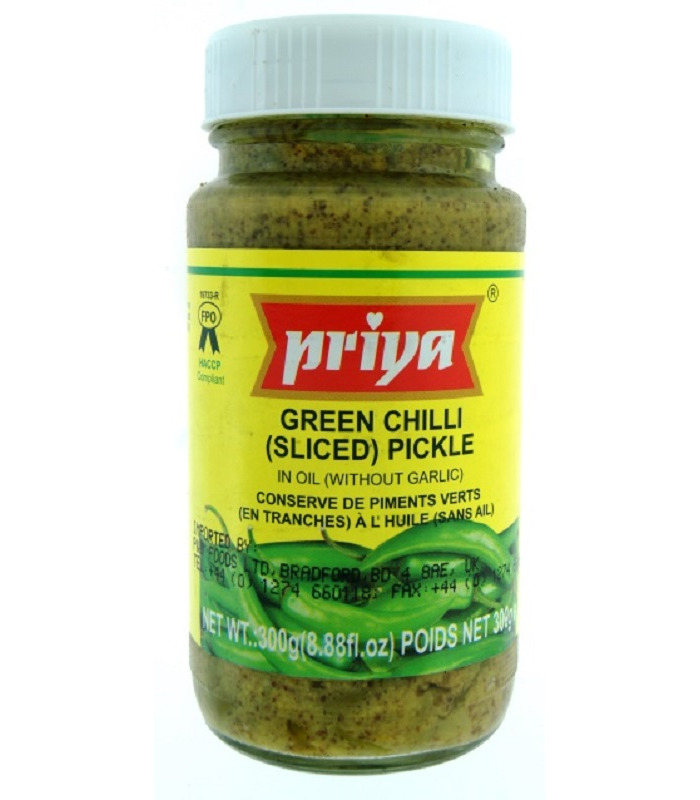 Priya Green Chilli Pickle - 300g