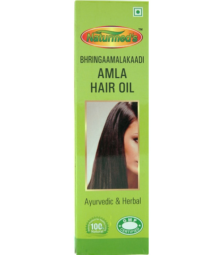 Naturemed`s Bhringaamalakaddi Amla Hair Oil