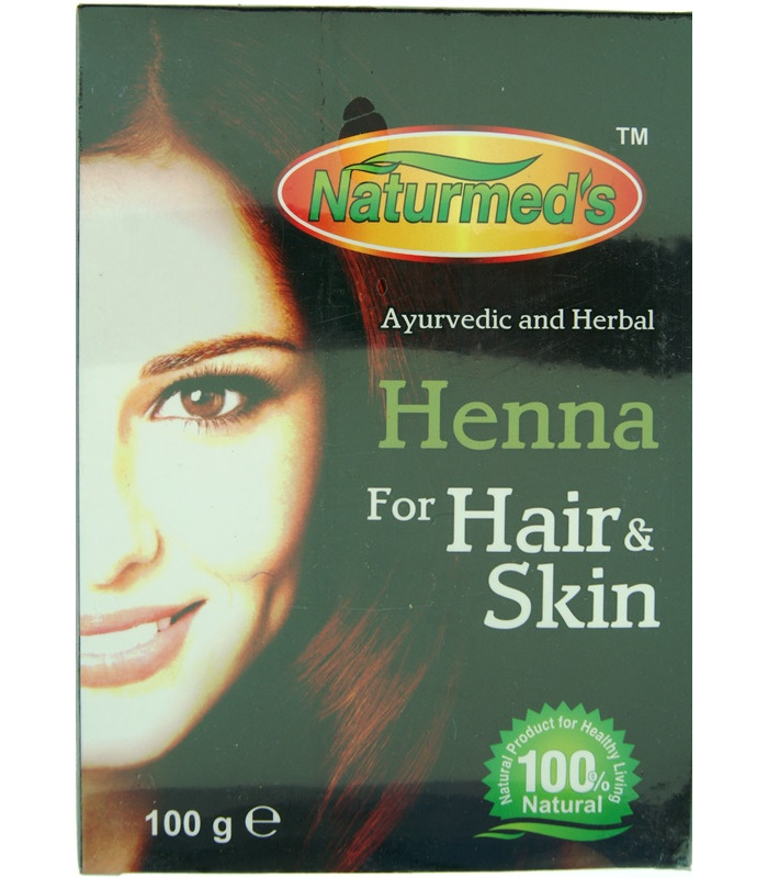 Naturmeds Henna for Hair and Skin - 100g