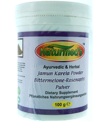 Naturemed`s Bittergourd-Jamun Powder