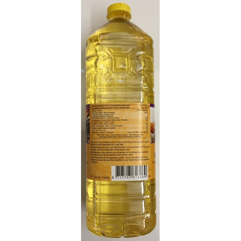 how to get rid of peanut oil