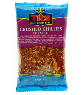 TRS Crushed Red Chillies (Extra Hot) - 100g