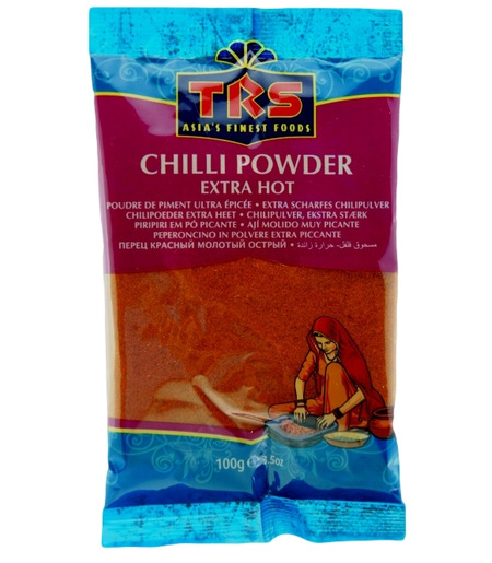 TRS Extra Scharfes Chili Pulver (Lal Mirch) - 100g