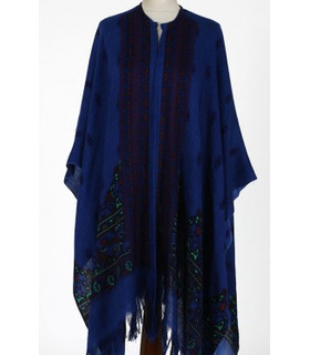 Navy Blue - Cape Shawl