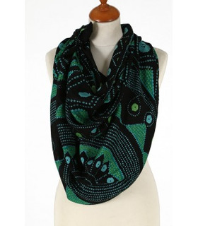 Green- Wool Scarf