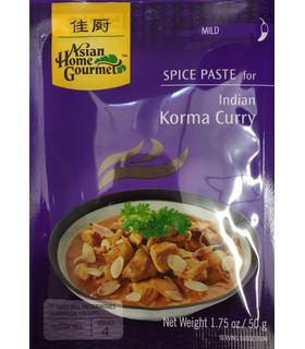 AHG Indian Korma Curry Paste - 50g