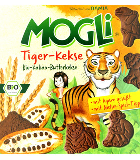 Tiger Biscuits (Cacao-Butter Biscuits) - Mogli - 125g (1+1)