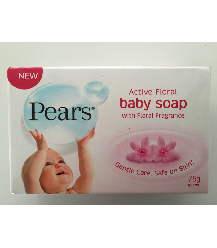 Pears Active Floral Baby Soap - 100g