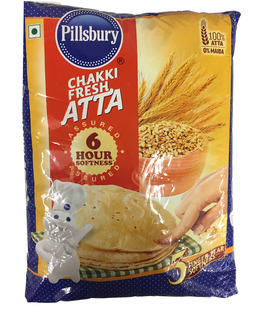 Pillsbury Atta (Local Indian Pack) 5Kg