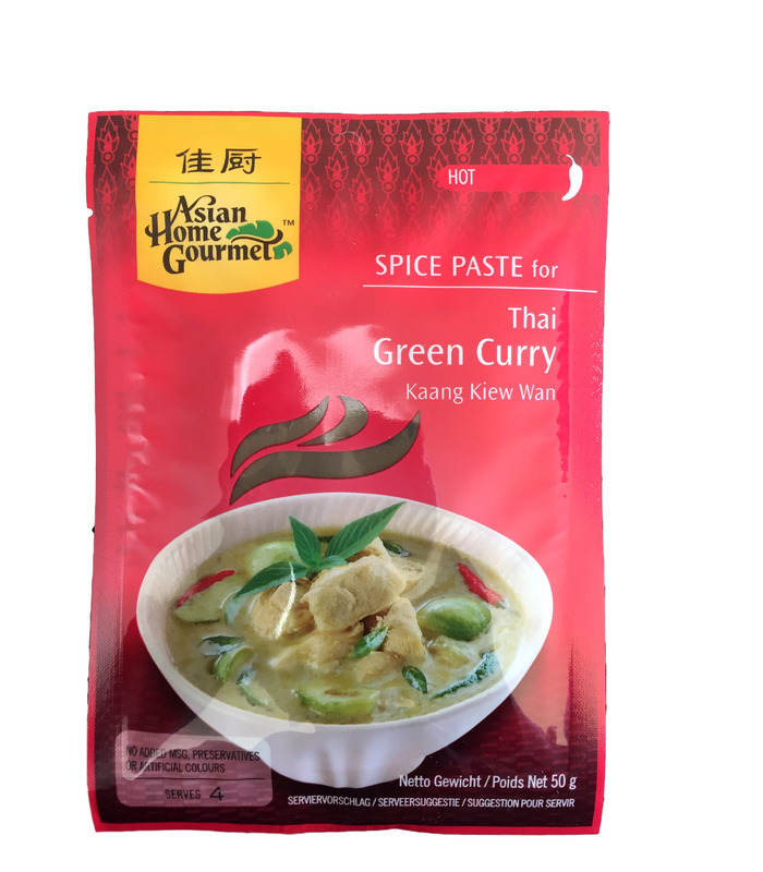 AHG Thai Green Curry Paste (Kaang Kiew Wan) - 50g