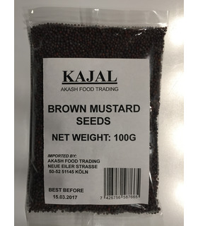 TRS Brown Mustard Seeds (Rye / Sarson) - 100g