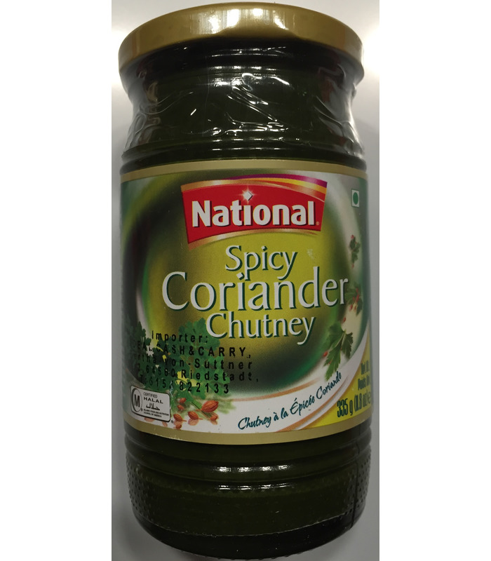 National Coriander Chutney - 335G