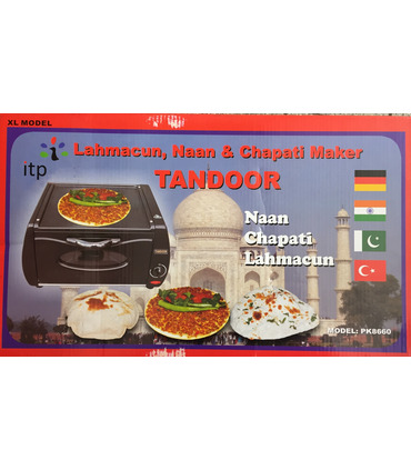 Tandoor Lahmacun, Naan and Chapati maker