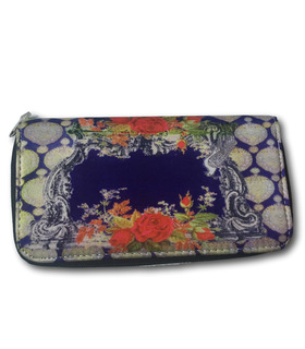Khaadi Purple Digital Printed wallet