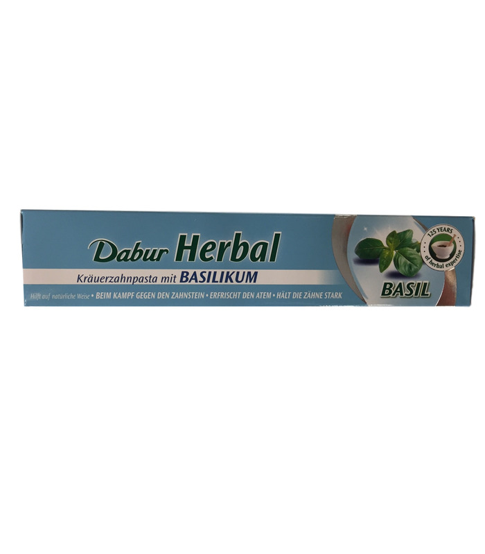 Dabur Basil (Tulsi) Herbal Toothpaste - 100ml