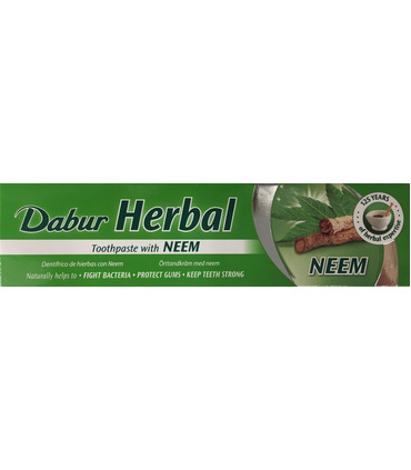 Dabur Neem (Herbal Toothpaste) - 100ml