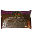 TRS Whole Brown Lentils (Malika/Masoor) - 2kg