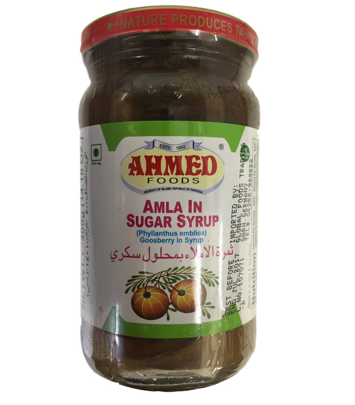 Ahmed Amla in Sugar Syrup - Amla Murabba - 400g