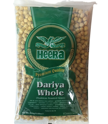 Heera Roasted Dariya Split (Gram/Chana) - 300g