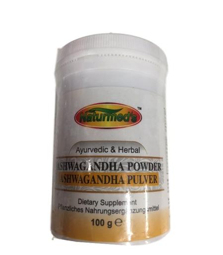 Naturmed`s Ashwagandha Pulver - 100g