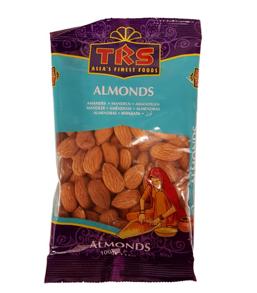 Whole Almonds (Californian) - 100g