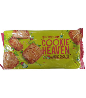 Haldirams Cookie Heaven Almond Cookies - 200g
