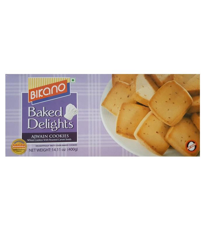 Bikano Ajwain Cookies - 400g