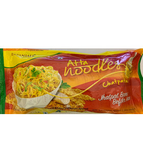 Noodles - Patanjali atta noodles chatpataa (4 pack)- 240g