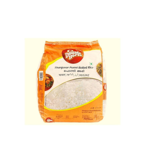 Rice - Double Horse Ponni Boiled Rice - 5kg