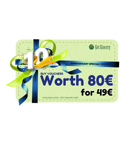 €80 Vouchers for €49  - Special offer