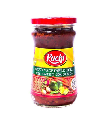 Ruchi Mixed Vegetable Pickle - 300g