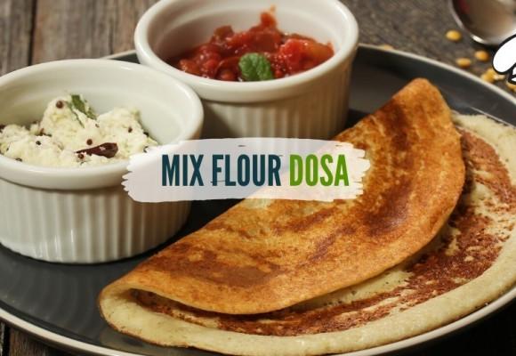 Mix Flour Dosa
